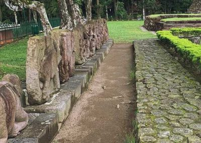 Arca yang berada di teras utama Candi Sukuh