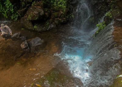 Tingkatan air terjun sebelum air terjun utama