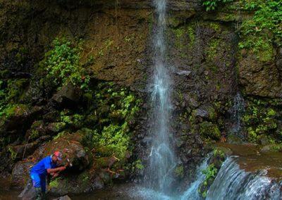 Air terjun yang juga terdapat di Parang Ijo