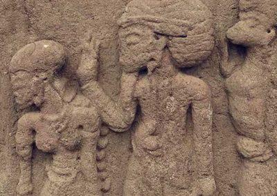 Relief yang terdapat di Candi Sukuh